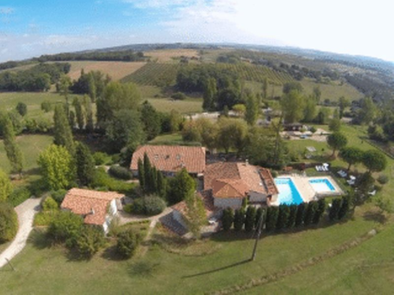 Excellent rental record for this touristical complex of 12 gites with 2 swimming pools